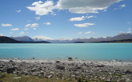 Mitchell Corp Kelly Bennett Stunning day on the shores of Lake Tekapo